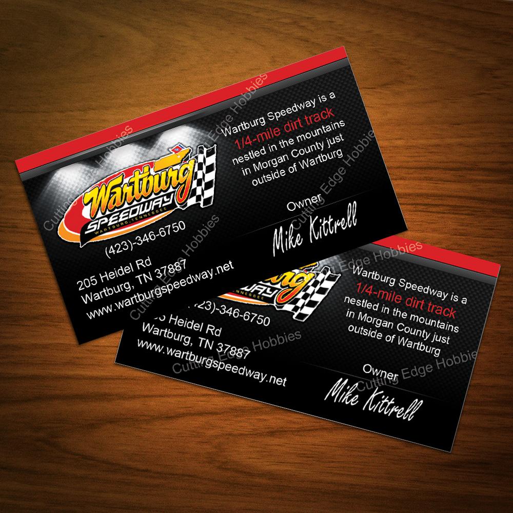 Cutting edge website design web site development based in knoxville tn wartburg speedway biz cards reheart Gallery