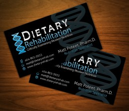 Dietary Rehabilitation Biz Cards
