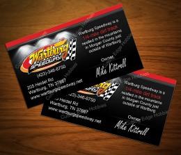 Wartburg Speedway Biz Cards