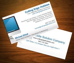 Cutting Edge Hobbies Biz Cards